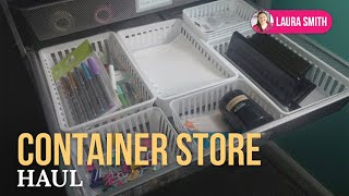Container Store Haul Thumbnail