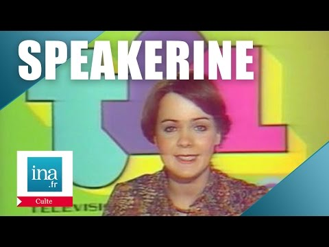Speakerine 1976 Fabienne Egal | Archive INA
