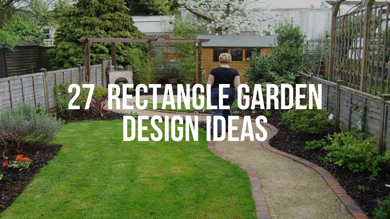 🔴 18 RECTANGLE GARDEN DESIGN Ideas - YouTube