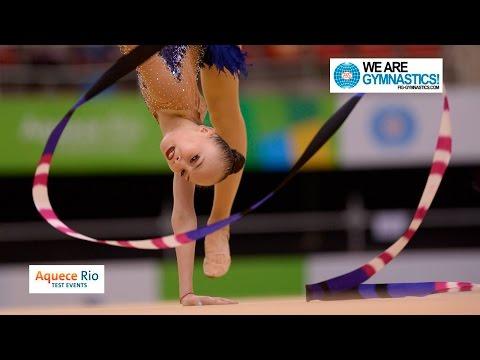 NEWS -  Olympic Test Event Rio BRA - Rhythmic Gymnastics Individual Final