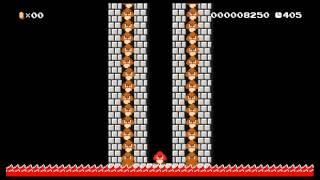 "Super Mario Maker level: ""The Goomba: A Sad Tale of Madness"" by Theorymon"
