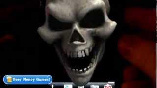 3D Skull Live Wallpaper (sound)