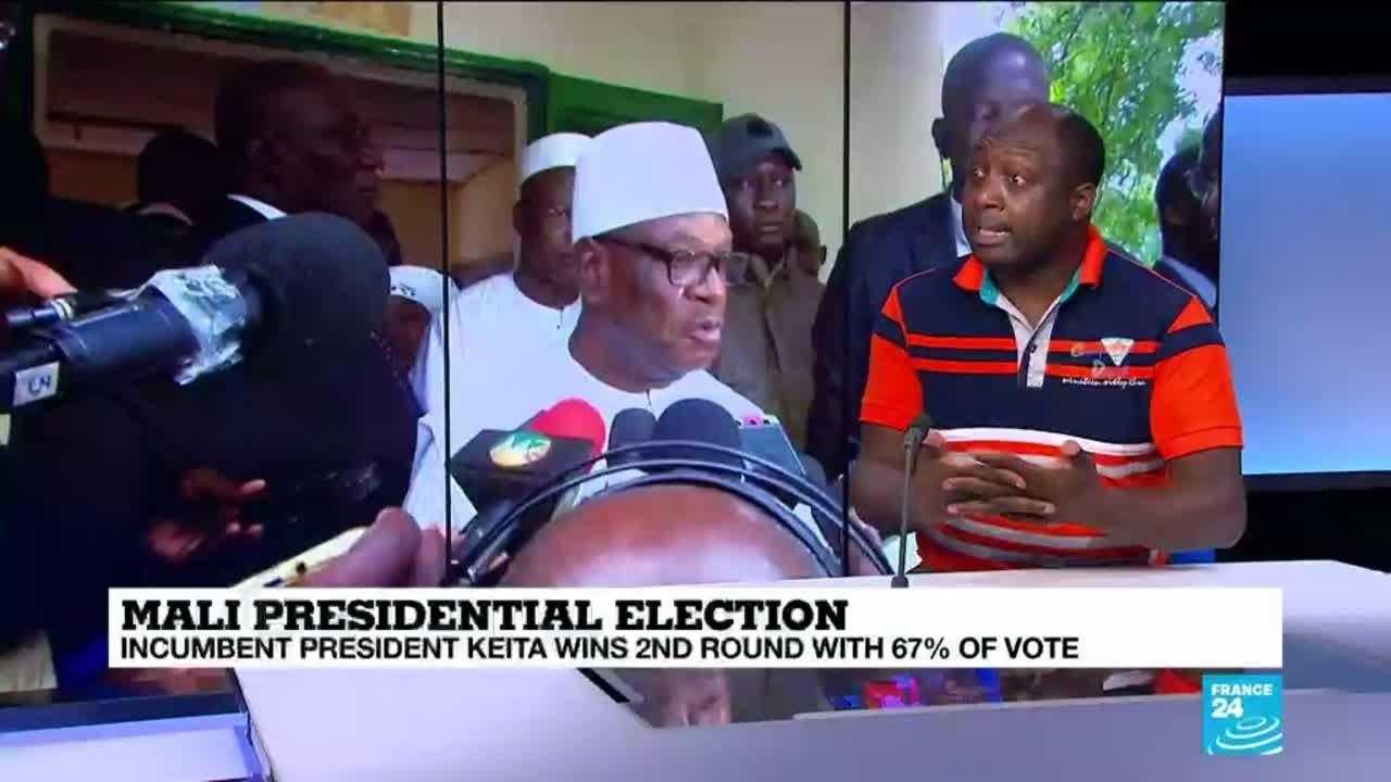 فرانس 24:New Mali president Boubacar Keita has many challenges ahead