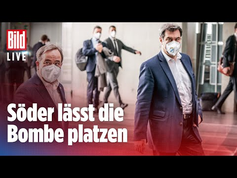 🔴Markus Söder will Kanzlerkandidat der Union werden   BILD Live