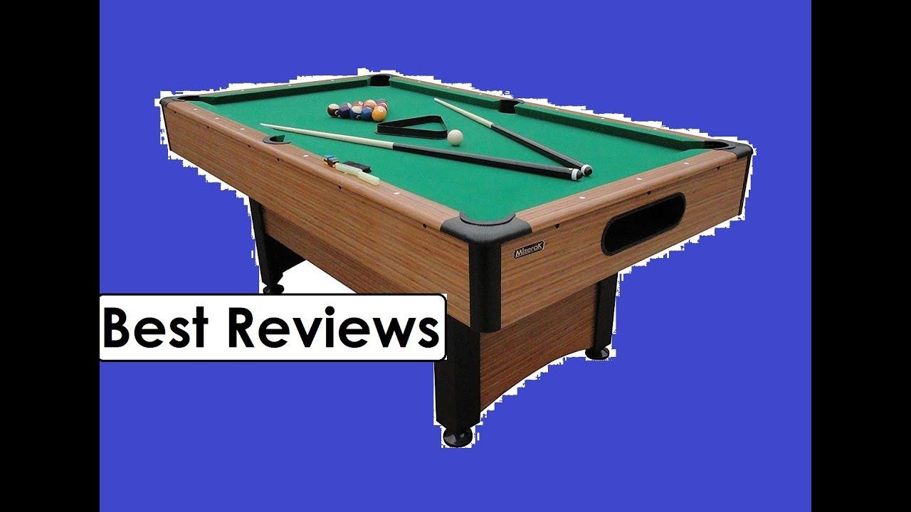 Mizerak Dynasty Space Saver Billiard Review YouTube - Mizerak space saver pool table