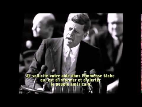 Discours de Dallas de Kennedy avant son assassinat en 63 (Propos énigmatiques et compromettants)