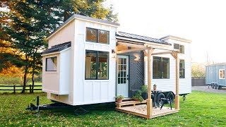 Absolutely Gorgeous The Pacific Harmony - Sold Tiny House | Living Design For A Tiny House
