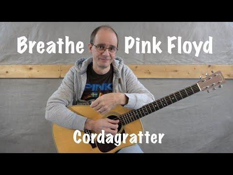 Breathe - Pink Floyd - Tuto Guitare - Cordagratter