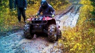ATV Mudding 4X4 Mud Bogging Quad