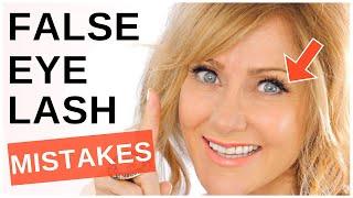 The NUMBER ONE Way To Wear False Eyelashes On Mature Eyes!