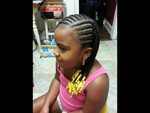 Beautiful Braids Hairstyles For Kids Youtube