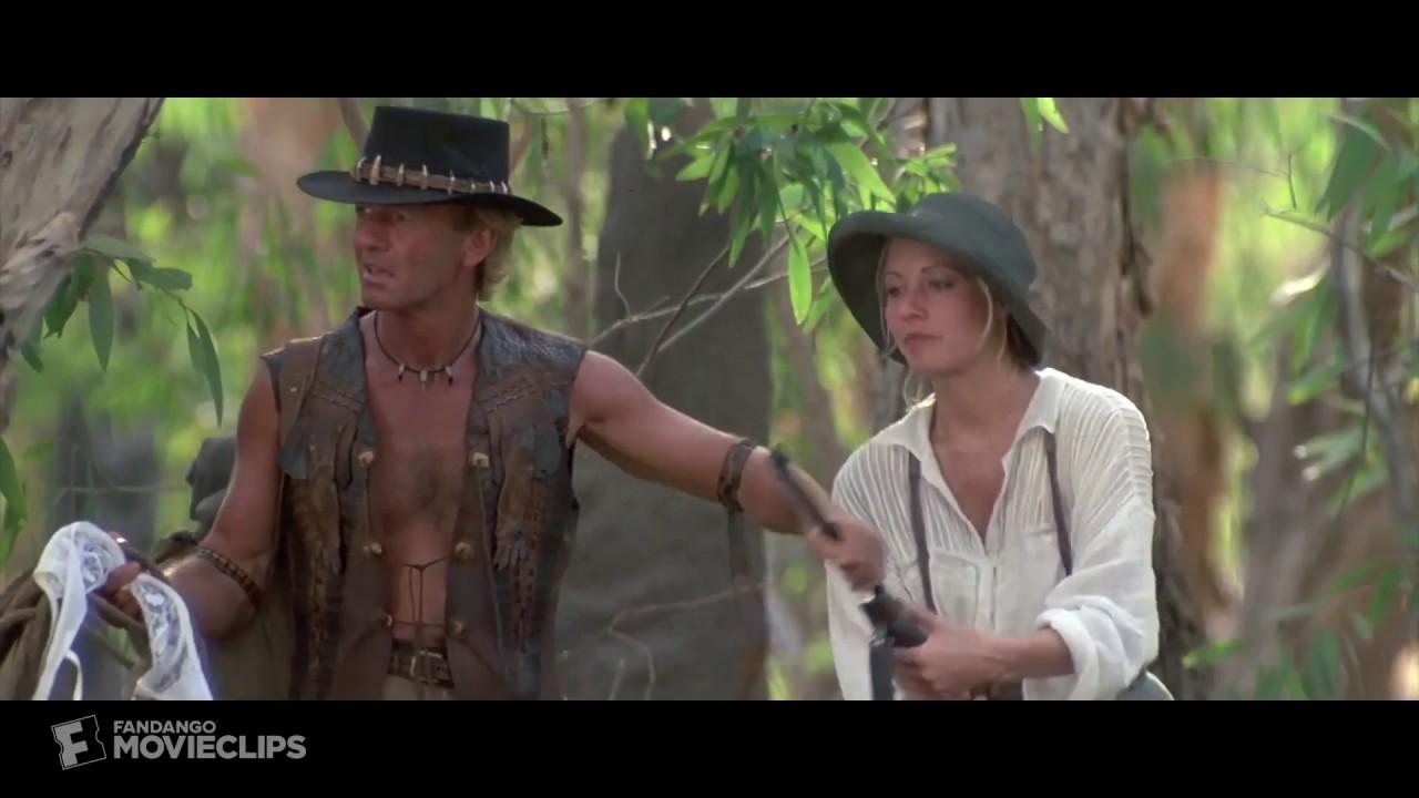 The Bra Booby Trap Scene From Crocodile Dundee Ii 1988 Hd Youtube