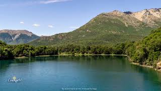 4K Drone Lake Stock Footage Clip 18