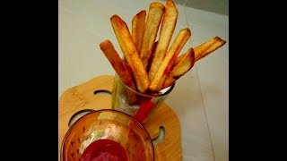 French fries making secret  step by step instruction for french fry