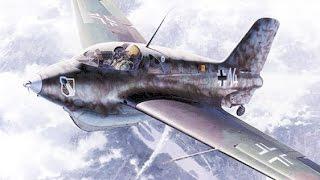 Ракетный истребитель - перехватчик Ме-163