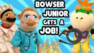 SML Parody: Bowser Junior Gets A Job!