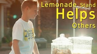 11-Year-Old Boy Sells Lemonade To Buy Wheelchairs For Others