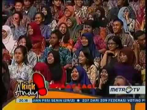 Full Kick Andy Terbaru 2016 ORANG ORANG HEBAT INDONESIA' Berita terbaru 1 Maret 2016