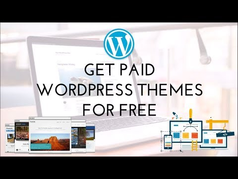 How to Download Paid Wordpress Themes for  FREE!
