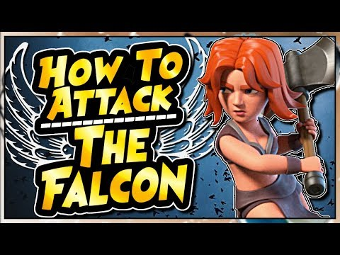 NEW VALKYRIE ATTACK - THE FALCON ALLOWS TH9's TO 3 STAR TH10's | Clash of Clans