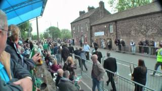 (Part 1 of 2) Whit Friday Brass Band Contest. Denshaw, Saddleworth,  West Yorkshire (2012)