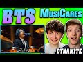 BTS - 'Dynamite' @ On A Mission REACTION!! MusiCares Live Performance