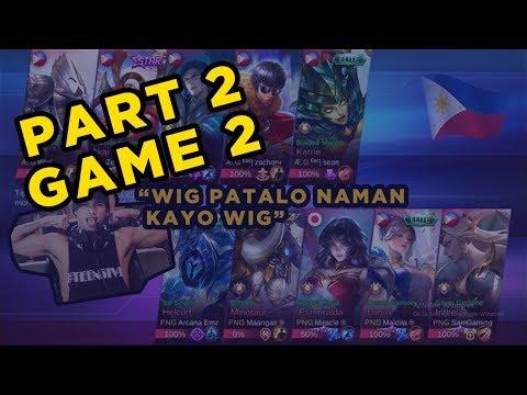 [GAME 2 PART 2 ] ETO BA YUNG 100K NA KALABAN NAMEN? WITH PNG SQUAD PREGAME 5vs5 AE ML o AKO vs PNG