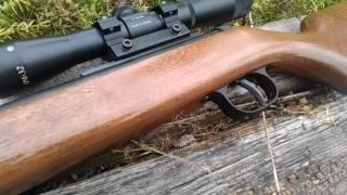 видео Пневматическая винтовка Diana 350 F Magnum Classic Сompact винтовка