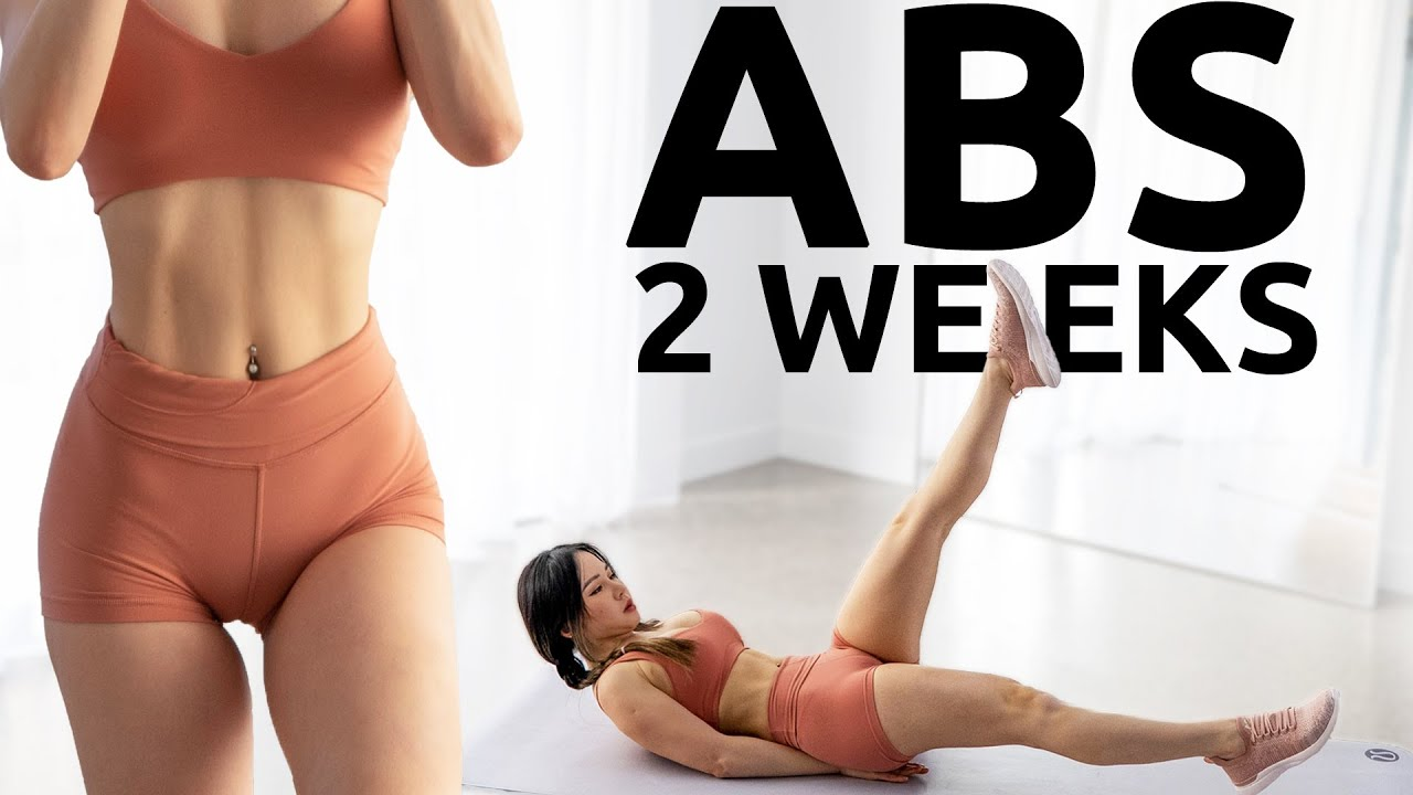 Abs In 2 Weeks Abs Workout Challenge 2020 Youtube