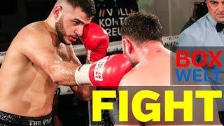 Yusuf Sultanoglu vs Mazen Girke - 6 rounds light heavyweight - 10.02.2018 - LEO's Boxgym, München