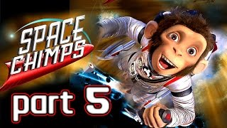 Space Chimps Walkthrough Part 5 (Xbox 360, PS2, Wii, PC) ~ 100% ~ Level 5