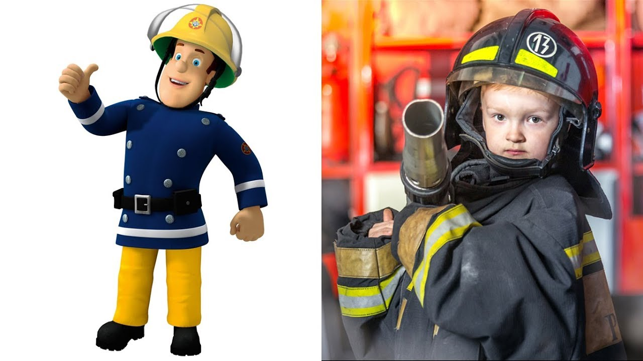 It is a graphic of Comprehensive Fireman Sam Pic