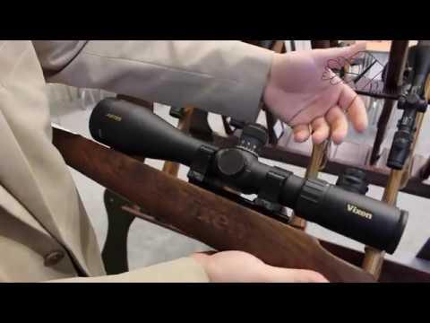 New vixen riflescope 5 30x56 ed iwa 2017 youtube