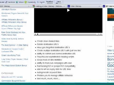 Download Google Video Sitemap by Mark Dulisse