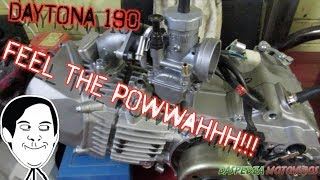 Daytona 190 Engine Install - Pit Bike