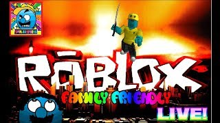 Roblox #1 | FIRST TIME STREAMING ROBLOX! | LIVE! (sjk livestreams #161)