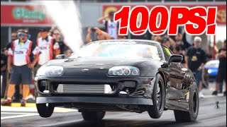 2016HP Supra Billet 2JZ on 100PSI of Boost! (Fastest IRS Supra in the World)