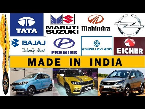 11 Made In India Automobile Companies | Indian Car Brands