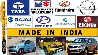 11 Made In India Automobile Companies   Indian Car Brands
