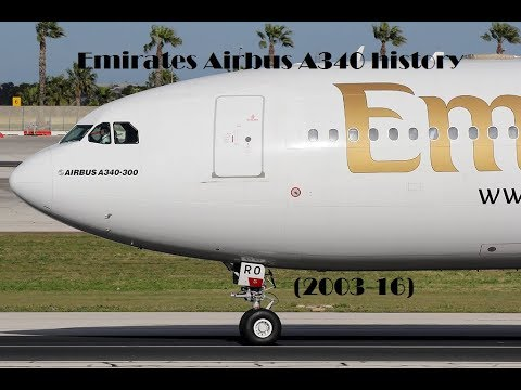 Fleet History - Emirates Airbus A340 (2003-16)