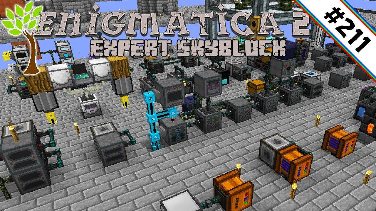 Wichtige Optimierungen 🌳 Enigmatica 2 Expert Skyblock #211