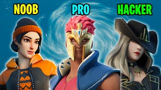 NOOB vs PRO vs HACKER - Fortnite Funny Moments #40