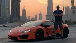 Letting the man who FIRED ME drive the Lamborghini