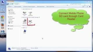 Recover Music and Video Files from Mobile Phone SD Card