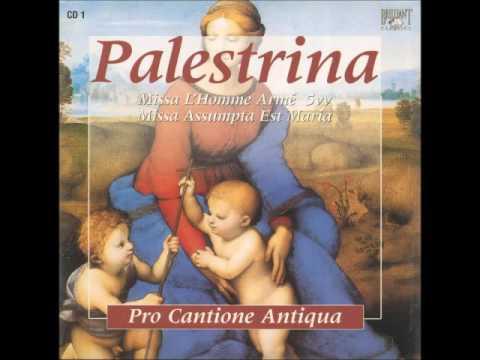 Palestrina Missa L'homme ammé vol. 01