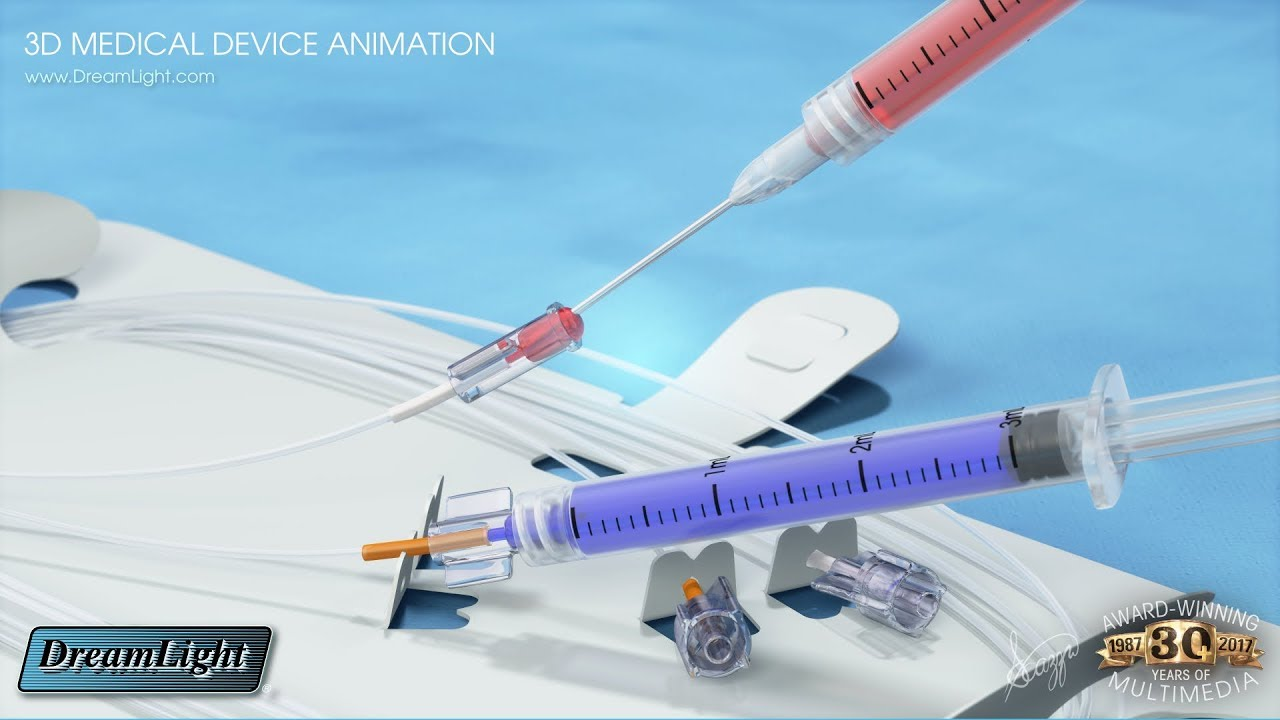 3D Animated Medical Device Videos