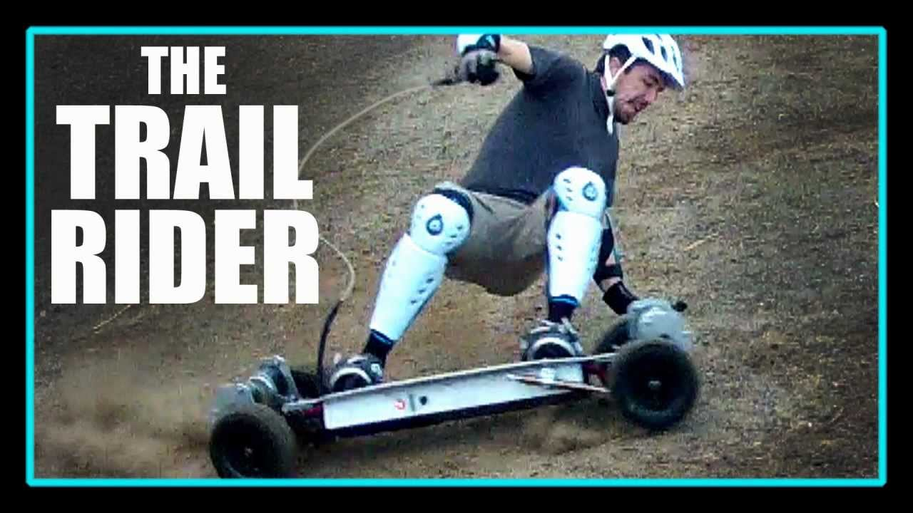 Gnarboards The Trail Rider 4wd Electric Skateboard Youtube
