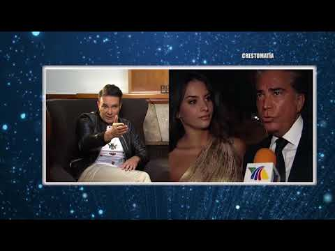 """Mauricio Islas nos habló del episodio que vivió con la hija del """"Puma"""" Génesis Rodríguez ."""