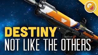 DESTINY Not Like The Others Legendary Scout Rifle Review (The Taken King)