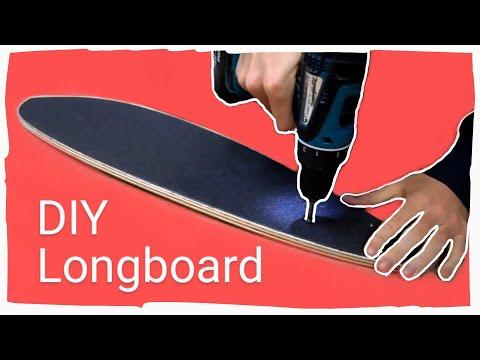 Longboard Selber Bauen - Pintail Longboard